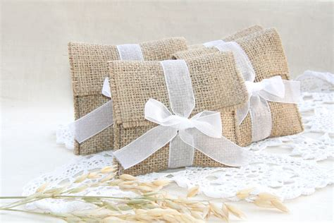 Wedding Favors Bags by Burlap Favor Bags Rustic Favor Bags Wedding Favors Bags