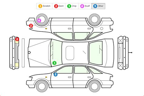 vehicle damage inspection form pdf wiring diagrams