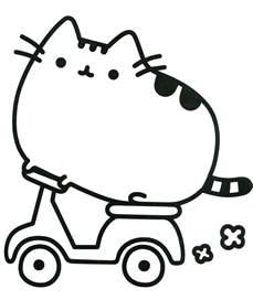 pusheen coloring book pusheen pusheen cat coloring sheets colorear dibujos