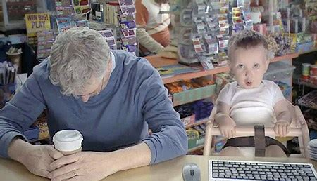 Etrade Baby Meme - 80 border patrol agents have been arrested over a 5 year