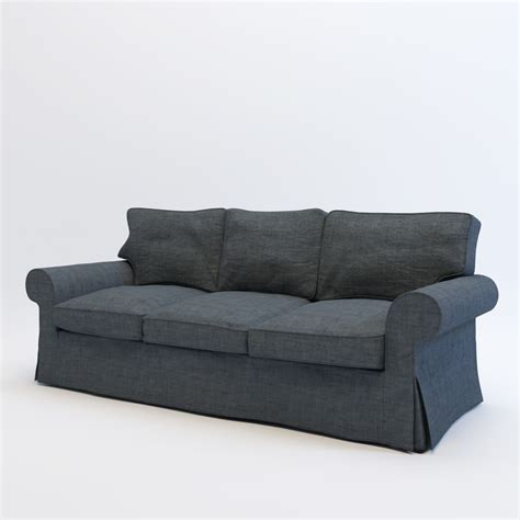 sofa models 3d model ikea ektorp sofa