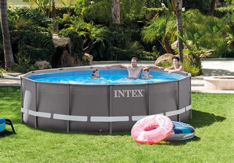 27 By 14 Frame by Intex 14 X 42 Quot Ultra Frame Pool Set W 1000 Gph Filter