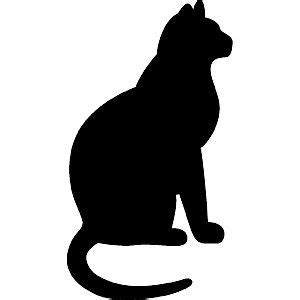 cat silhouette template 237 best images about silhouette iii a on i