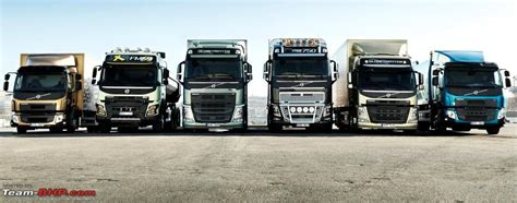 all volvo truck models volvo trucks reving the entire range team bhp