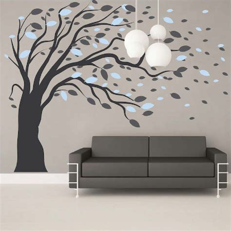 large wall tree nursery decal oak branches 1130 unique 25 tree wall art decals inspiration of vinyl wall