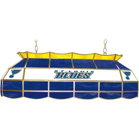 Light Fixtures St Louis Trademark Global Nhl St Louis Blues 40 Quot Stained Glass Billiard Table Light Fixture Walmart
