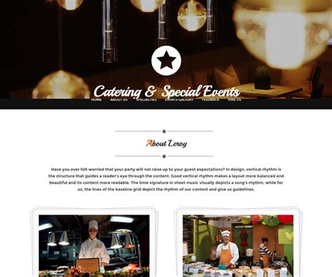 templates bootstrap free restaurant 33 top free hotel html5 templates for cafes restaurants