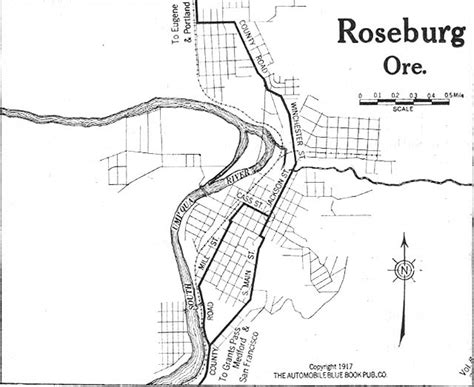 roseburg oregon map oregon maps perry casta 241 eda map collection ut library