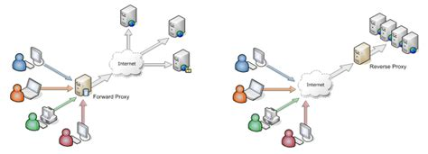 forwarding web server webserver difference between proxy server and