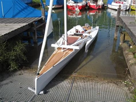 trimaran kit with folding akas water pinterest - Trimaran Kit With Folding Akas