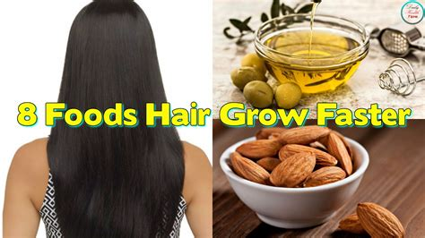 16 growing hair tips to help grow hair out faster 8 foods that can help your hair grow faster youtube