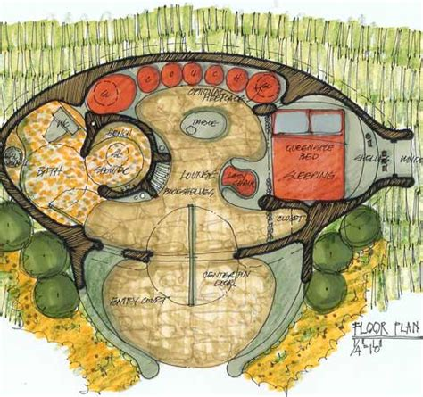 hobbit house plans hobbit homes natural building blog