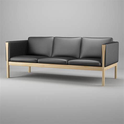 hans wegner sofa ch163 3ds max sofa hans j wegner
