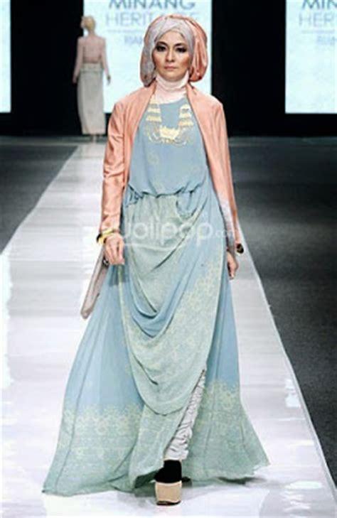 tren busana muslim terkini 20 foto desain baju pesta muslim glamour terpopuler