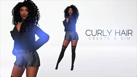 the sims 4 natural curly hair the sims 4 create a sim where to get curly hair