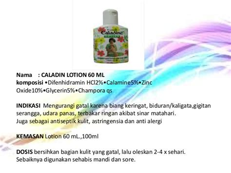 Caladine Lotion 60 Ml 2 Botol pemberian obat topical kdm ii by pangestu chaesar