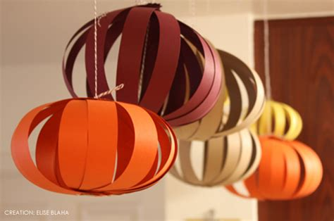 Easy To Make Paper Lanterns - thanksgiving paper lanterns at home with vallee