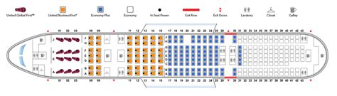 united 777 200 seat map united airlines boeing 777 seating chart brokeasshome