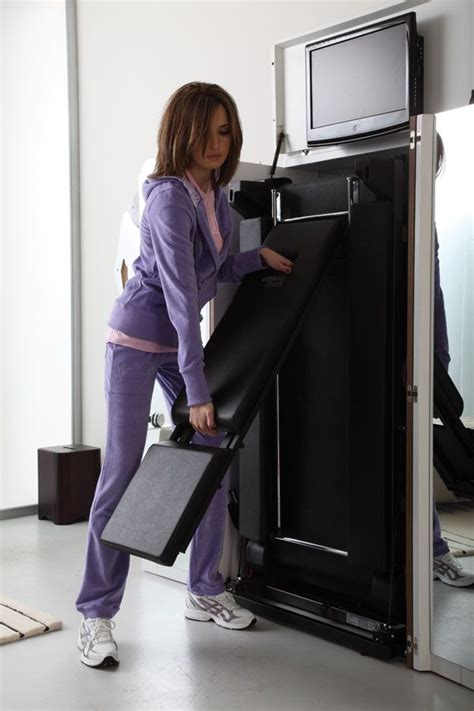 Treadmill Armoire by Waaant Treadmill That Folds Into An Armoire Office