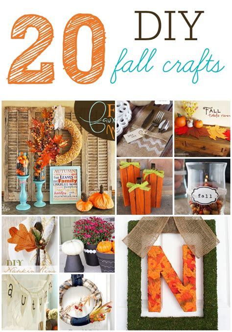 20 diy fall craft projects six sisters stuff
