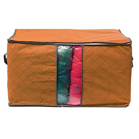 Drawstring Garment Organizer storage bag box clothing garment organizer quilt
