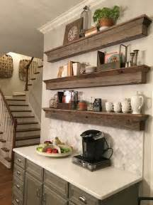shelves in kitchen ideas 35 floating shelves ideas for different rooms digsdigs