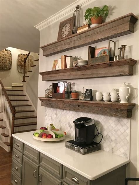 floating kitchen shelves 35 floating shelves ideas for different rooms digsdigs