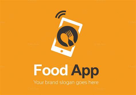 food app logo template logo templates  creative market