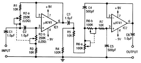 high pass filter variable audio filter circuit page 6 audio circuits next gr