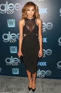 Metal Carpet Trim Lea Michele And Naya Rivera Celebrate Glee S 100th Episode