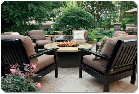 firepit chairs outdoor furniture pit table and chairs