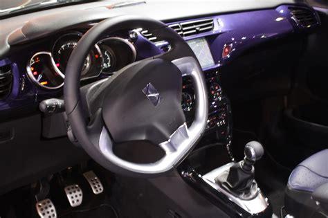 interior citro 235 n ds3 cabrio lista de carros