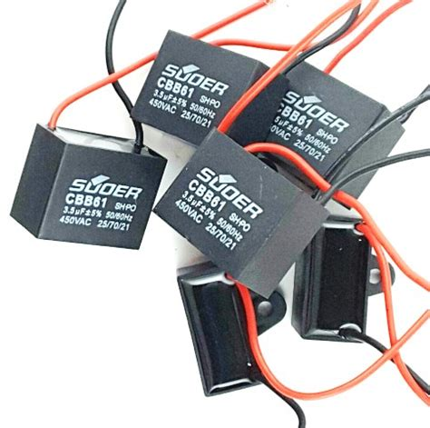Capasitor 153j 2000v 3 5uf 450vac capacitors for electric fan