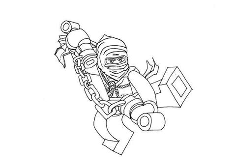 lego nindroid coloring page free coloring pages of ninjago morro