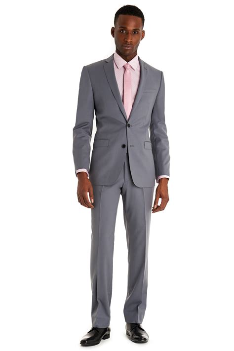light grey slim fit suit connection slim fit light grey suit in gray for