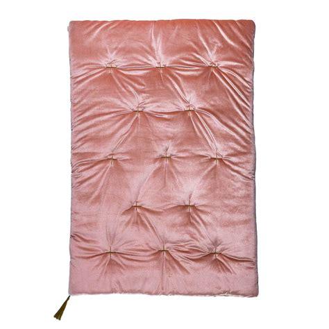numero 74 futon leo numero 74 futon playmat velvet dusty pink