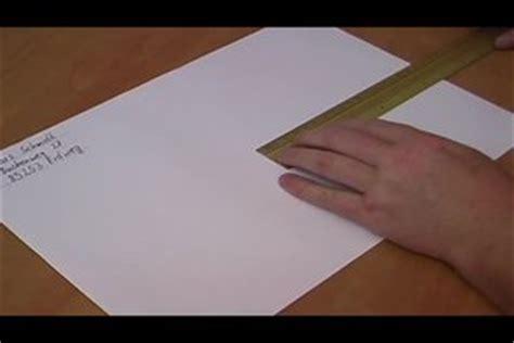 Bewerbung Couvert Anschreiben Umschlag Beschriften