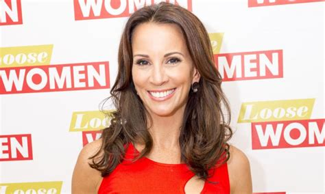 dream meaning celebrity crush loose women s andrea mclean reveals surprising celebrity crush