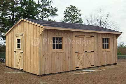 Saltbox Storage Shed Plans by 12 X 18 Saltbox Garden Storage Shed Plans Design 71218
