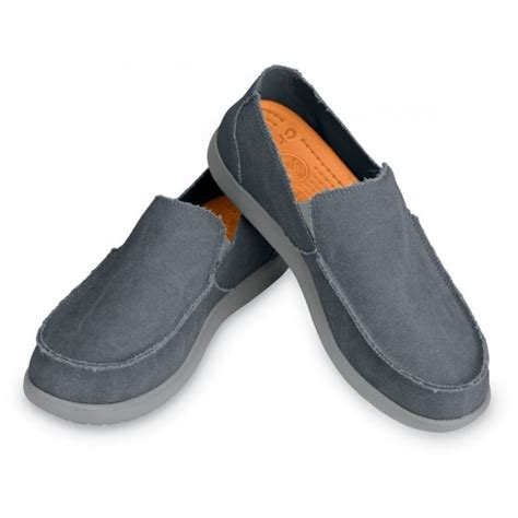 Sepatu Kickers Leaner Slip On Suede Grey crocs santa light grey charcoal canvas slip on shoe for or casual wear from