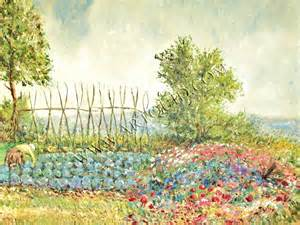 Garden Of Painting Paintings The Vegetable Garden Page 1170 Modern And