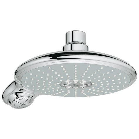 Grohe Shower Prices by Grohe Power Soul Fixed Shower Chrome