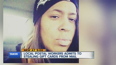 Stealing Gift Cards - postal worker accused of stealing around 2k in gift cards from mail wxyz com