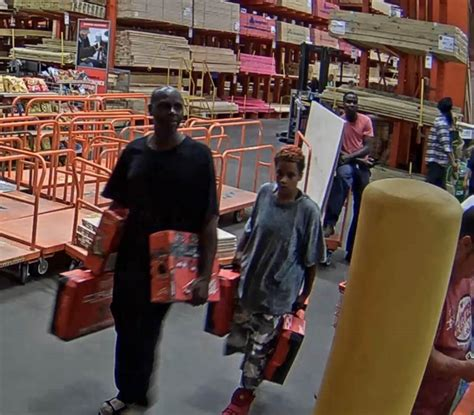 baytown home depot thieves make with 7 000 in power