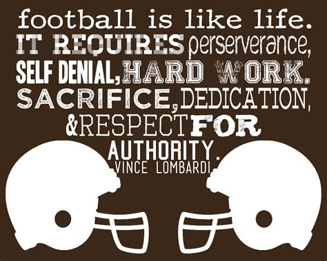 Football Quotes Football Is Like