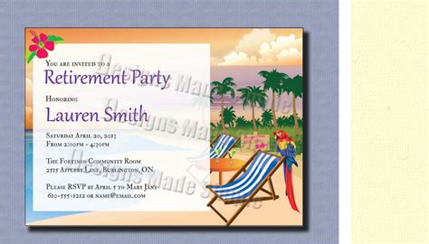 4 retirement party flyer templates af templates