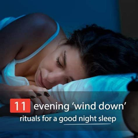 For A Nights Sleep by 11 Evening Wind Rituals For A Sleep Bembu