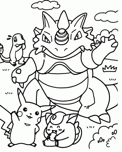 pokemon coloring pages pdf pokemon eevee pictures coloring home