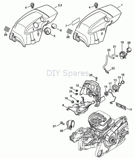 stihl ms 440 parts diagram surprising stihl ms parts diagram pictures best image