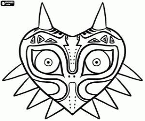 Coloriage Zelda Majora S Mask